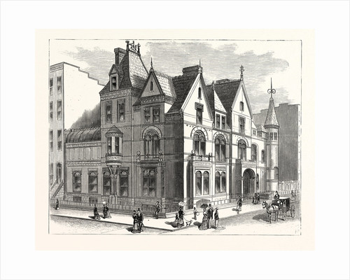 Architectural Progress of New York: Residence of Frederick W. Stevens, on Fifth Avenue and Fifty-Seventh Street by Anonymous