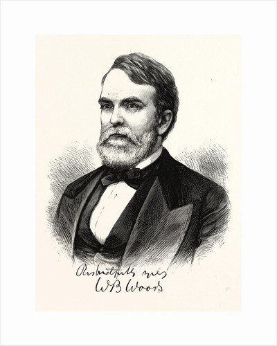 Hon. William B. Woods, Newly-Appointed Associate Justice of the United States Supreme Court by Anonymous