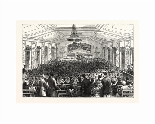 Pennsylvania: The Pan-Presbyterian Council, a Morning Session in Horticultural Hall Philadelphia by Anonymous