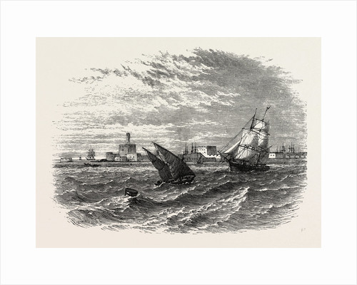 View Of Alexandria (from The Sea) by Anonymous