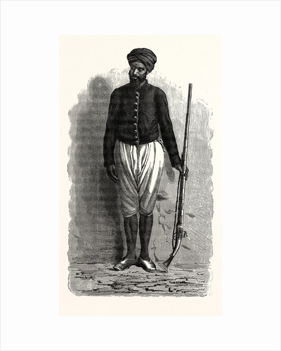 An Arab Soldier Of Tunis. by Anonymous