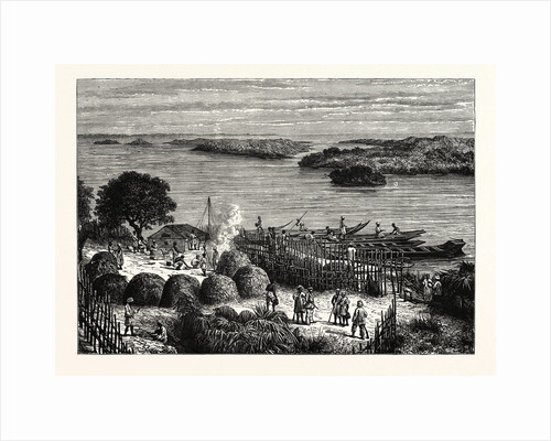 An Encampment On The River Congo by Anonymous