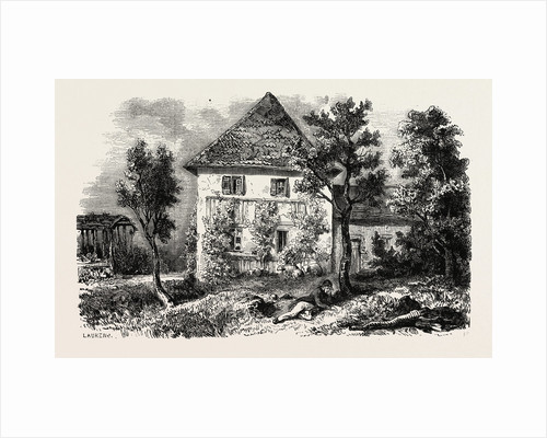 Country house in Lechwitz, formerly inhabited by C.M by Anonymous