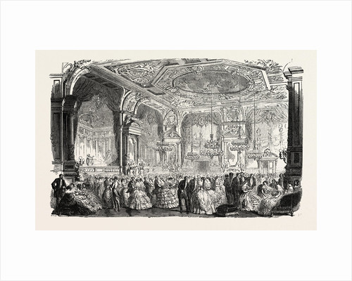 Palace of Versailles: The new dances and concerts hall by Anonymous