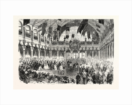 Queen of England Arriving at the Railway of Strasbourg, France. Queen Victoria by Anonymous