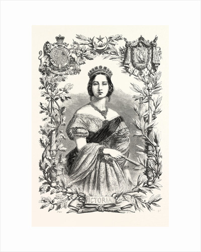 Queen Victoria. Queen of England by Anonymous