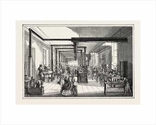 Universal Exposition: Printing House of the State in Vienna. Foundry and Stereotypy by Anonymous