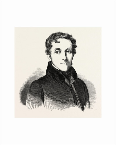 Count Louis-Mathieu Molé, 1781 - 1855, a French Politician. France by Anonymous