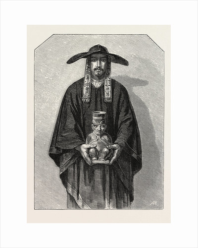 Salon of 1855. Peruvian School. Inhabitants of the Cordillera, Engraving 1855 by Anonymous