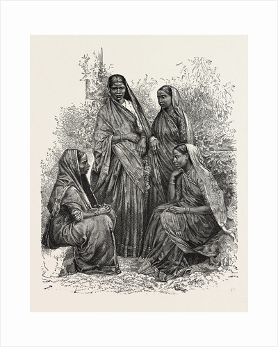 Native Women (Bombay Presidency), Converts to Christianity by Anonymous