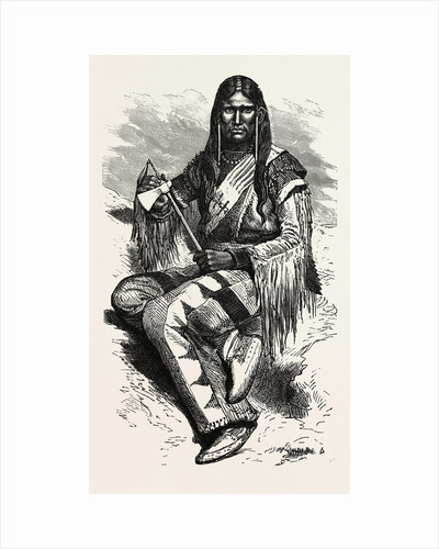 Warrior of Blood Indian Tribe by Anonymous