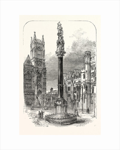 Memorial Column to Lord Raglan by Anonymous