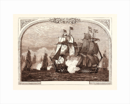 Sir John Jervis' Action Off Cape St. Vincent, February 14th, 1797 by Anonymous