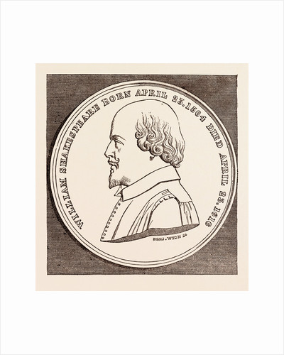 The Beaufoy Medal, in Commemoration of the Birth and Death of Shakespeare by Anonymous