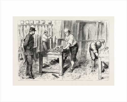 The Claimant at Work in the Carpenters Shop, Portsmouth Convict Prison by Anonymous