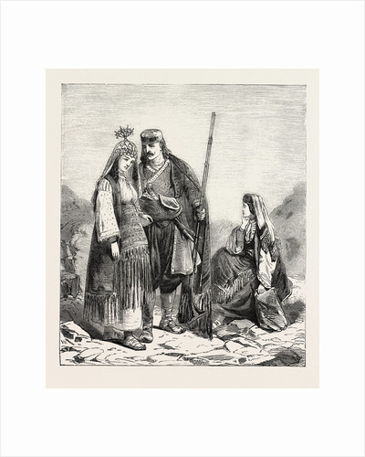 Dalmatian Peasants by Anonymous