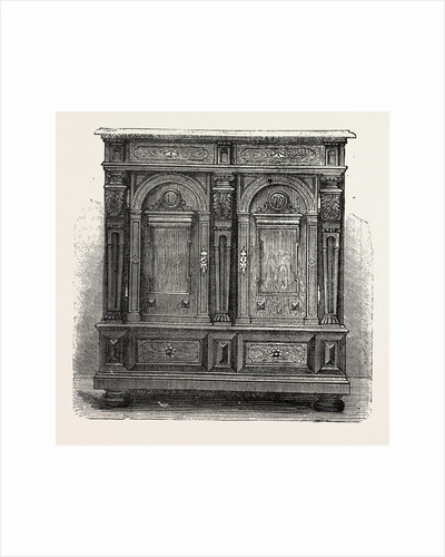 Cabinet for Plate, Furniture by Anonymous