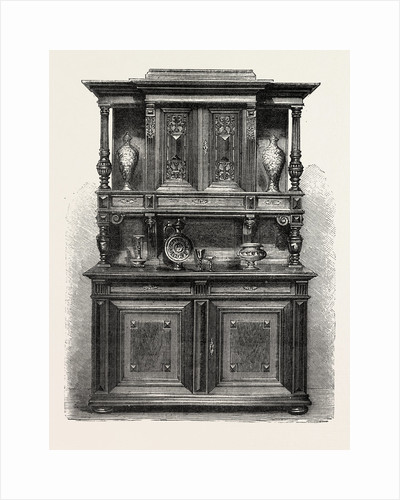 Sideboard for Dining Room, Furniture by Anonymous