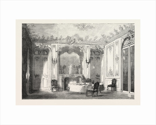 French Dining Room in Louis XV. Style. by Anonymous