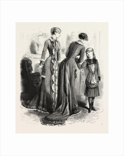 Breakfast Gown and Child's Costume by Anonymous