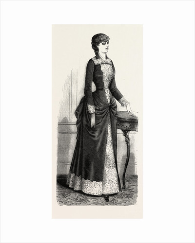 Tea Gown by Anonymous