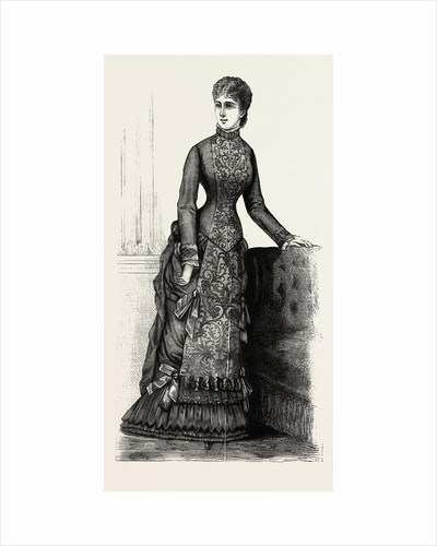 Afternoon House Dress by Anonymous