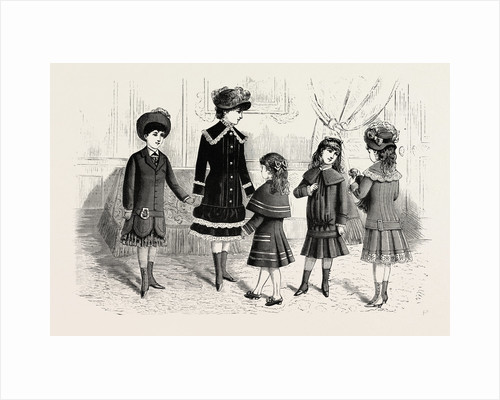 Children's Winter Costumes by Anonymous