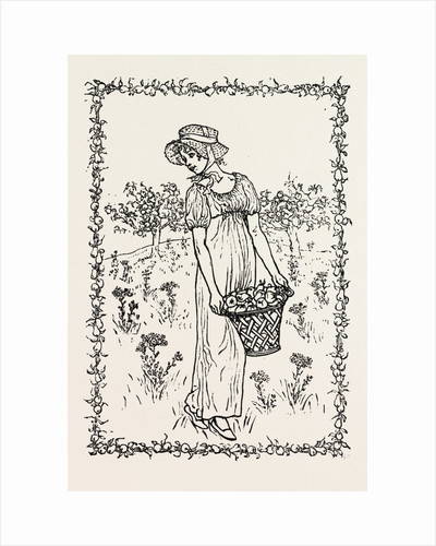 Autumn. From Kate Greenaway's Almanac by Anonymous