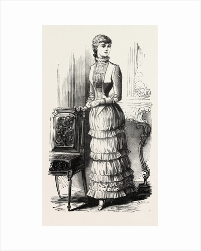 Dinner Dress for Girl of Fifteen by Anonymous