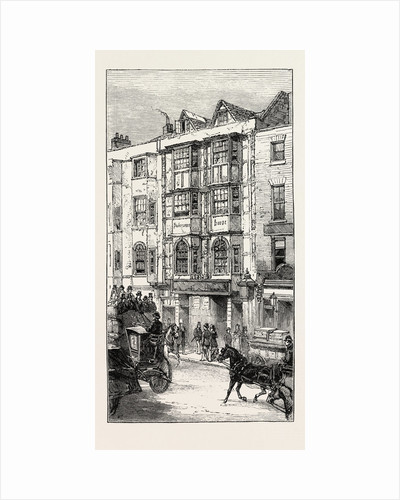The So Called Shakespeare's House in Aldersgate Street About to Be Demolished, London by Anonymous