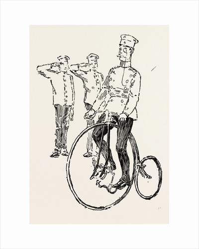 Military Cycling in Germany, Bicycle, Bicycles by Anonymous