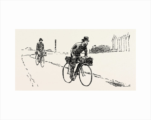 Suspicious Characters on the Franco-German Frontier, Bicycle, Bicycles by Anonymous