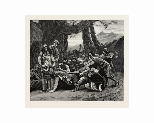 The Gypsies Worshipping the Stolen Child, Scene from the Sorceress by Anonymous