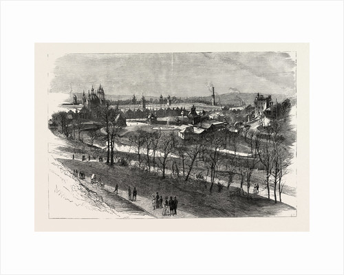 View of the Exhibition Buildings and Kelvin Grove, the Glasgow International Exhibition by Anonymous