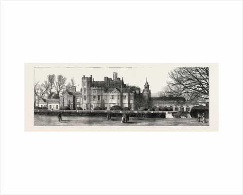 Canford Manor, the Residence. of Lord Wimborne by Anonymous
