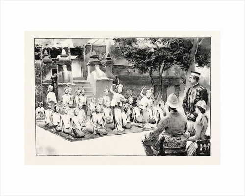 A Burmese Ballet, Burma, As Performed Before H.R. H. Prince Albert Victor by Anonymous