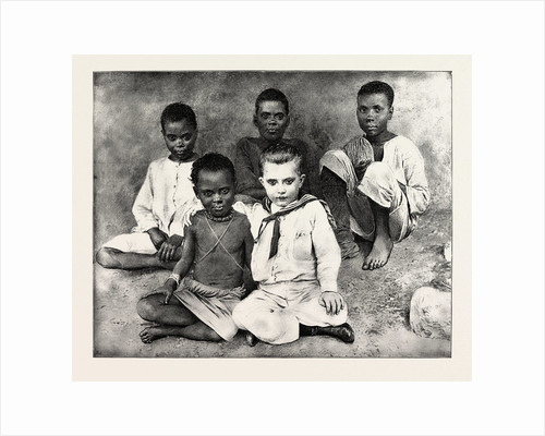 Black and White, Little Jack, the Boy Missionary, and His Playmates by Anonymous