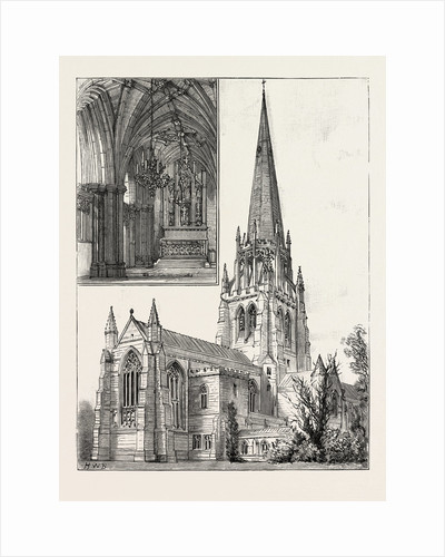 Church at Clumber, Exterior by Anonymous
