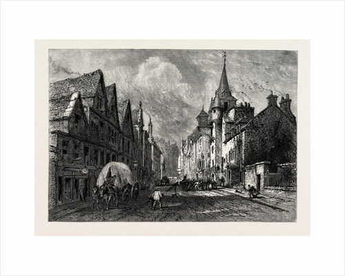 The Canongate Tolbooth, Edinburgh and the South Lowlands, Scotland, Great Britain by Anonymous