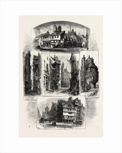 Bits in Old Edinburgh, Edinburgh and the South Lowlands, Scotland, Great Britain by Anonymous