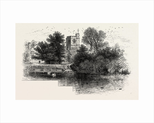 Bray Church, Scenery of the Thames by Anonymous