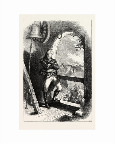 Arnold Viewing the Destruction of New London, American Revolutionary War by Anonymous