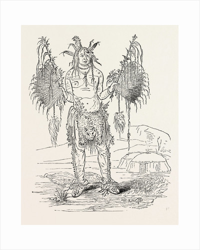 Indian Medicine Man by Anonymous