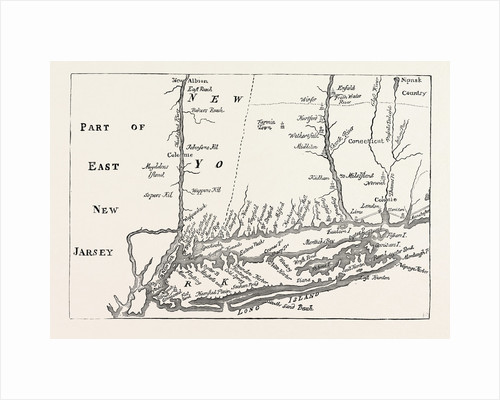 New York at the Beginning of the Eighteenth Century by Anonymous