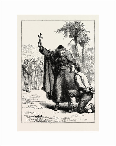 Walker Before His Execution by Anonymous