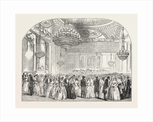 Grand Ball at the Brighton Pavilion (the Music Room) by Anonymous