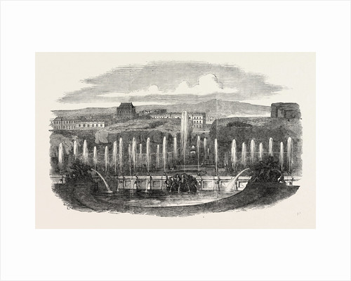 Gambon's Moving Panorama, the Fountains at Versailles Exhibited at the Linwood Gallery, Leicester Square, London by Anonymous