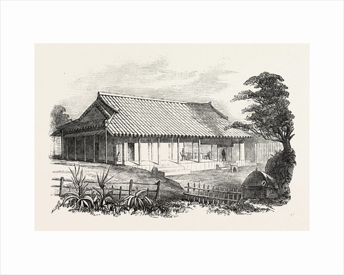 Dr Bettelheim's Residence, Loo Choo, Chinese Seas. Loo-Choo Islands, Ryukyu Islands by Anonymous