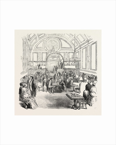 The Berkshire and Reading Chess Club Soiree, in the New Hall, Reading by Anonymous