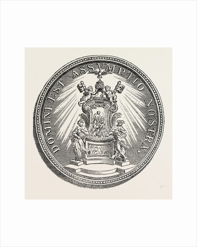 Medal of Pope Alexander VIII by Anonymous